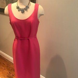 Designer worth pink dress